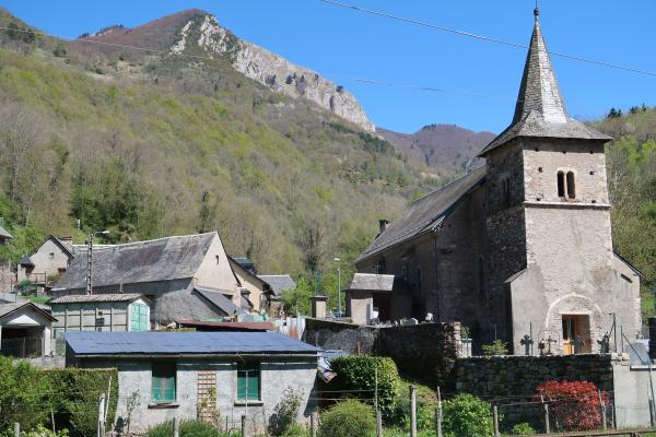 Frankreich, Kirche, Pyrenäen