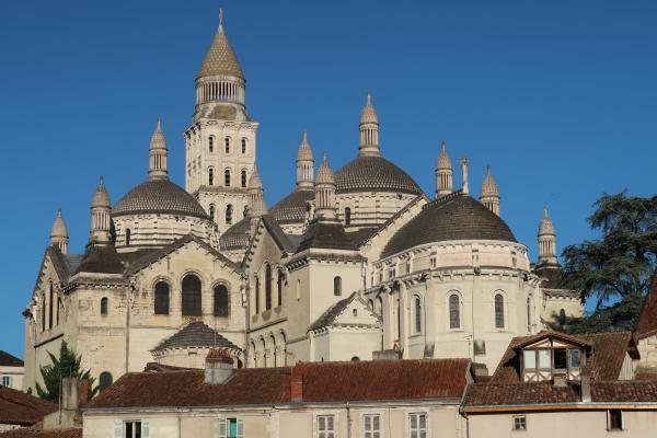 Dordogne, Frankreich, Kathedrale, Perigord, Perigueux