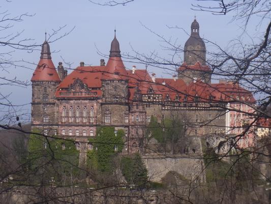 Polen, Schlesien, Schloss Fürstenstein