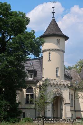 Brandenburg, Lausitz, Rad, Schloss