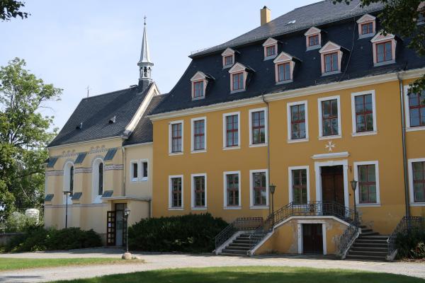 Deutschland, Oberlausitz, Sachsen, Schloss