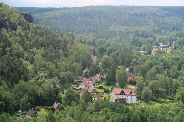 Deutschland, Sachsen, Sächsische Schweiz, Wandern