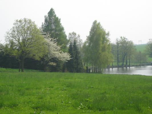 Ausflug, Fahrrad, Oberlausitz, Rammenau, Rammenau