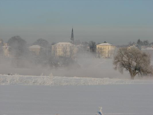 Dresden, Schnee, Landschaft