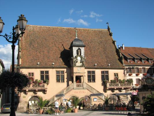 Elsass, Frankreich, Architektur, Molsheim, Urlaub, Molsheim, Frankreich