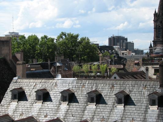 Urlaub, Strasbourg, Frankreich, Architektur