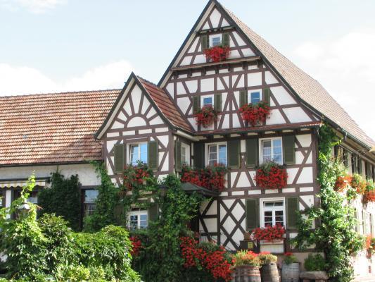 Architektur, Offenburg, Urlaub