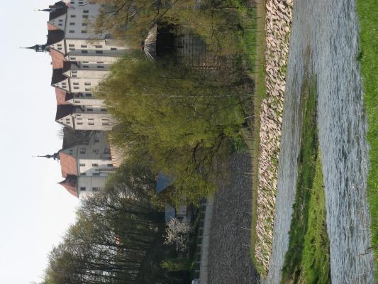 Freiberger Mulde, Nossen, Schloss Nossen, Wasser