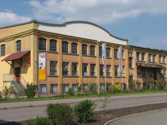 Architektur, Freiberger Mulde, Nossen, Fabrikgebäude