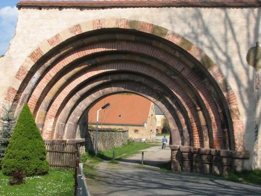 Architektur, Freiberger Mulde, Kloster Altzella, Nossen