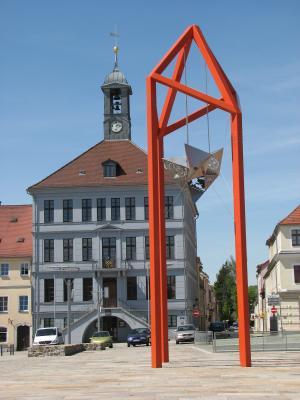 Architektur, Bischofswerda, Kunst, Marktplatz, Oberlausitz, Rathaus