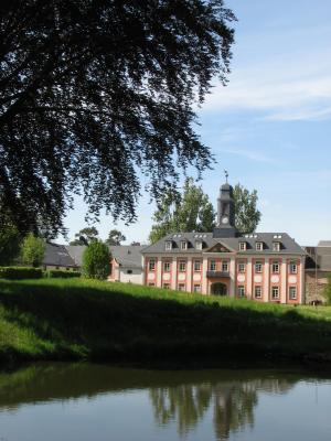 Architektur, Barock, Großharthau, Oberlausitz, Rittergut, Spiegelung