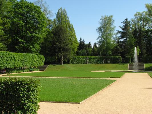 Barock, Barockpark, Großharthau, Oberlausitz, Pflanzen