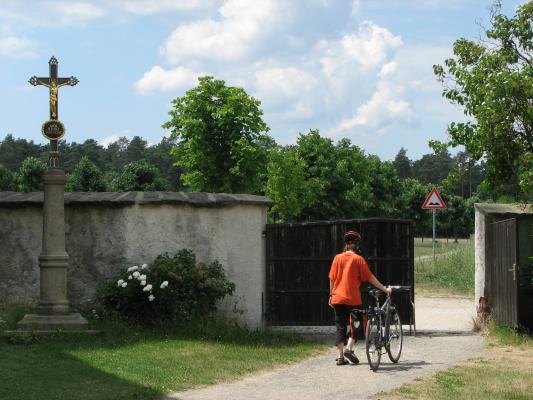 fahrradtour, Kirche, Oberlausitz, Rabitz-Rosenthal, Tor