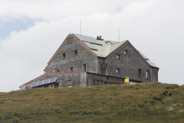 Alpen, Ankogelgruppe, Ansichtskarte, Hagener Hütte, Hohe Tauern, Urlaub, verwendet in, Österreich