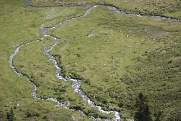 Alpen, Ansichtskarte, Hohe Tauern, Irschen, Kreuzeckgruppe, Mokarbach, Urlaub, verwendet in, Österreich
