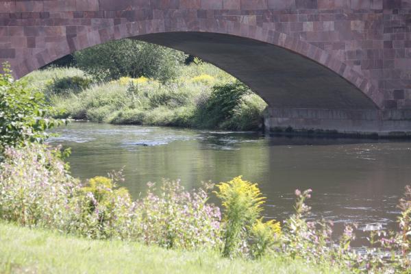 Architektur, Brücke, fahrradtour, Rochlitz, Zwickauer Mulde