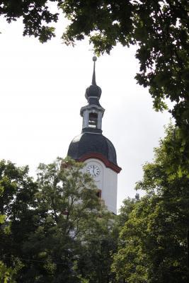 Architektur, fahrradtour, Kirche, Wechselburg, Zwickauer Mulde