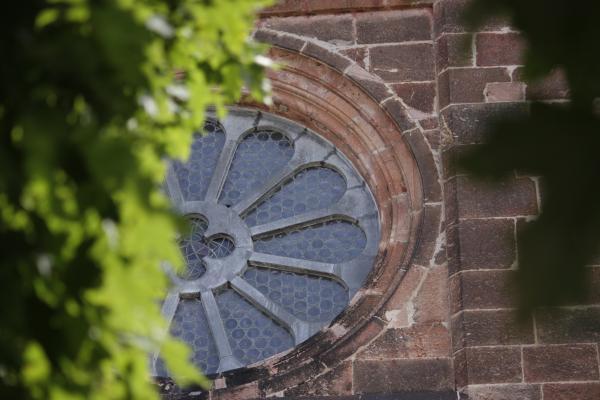 Architektur, Basilika, fahrradtour, Fenster, Kirche, Wechselburg, Zwickauer Mulde