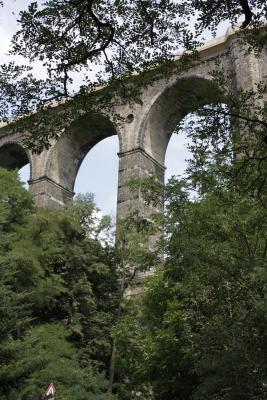 Architektur, Brücke, Eisenbahn, fahrradtour, Göhren, Viadukt, Zwickauer Mulde