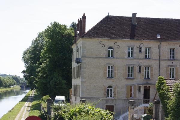 Ancy le Franc, Burgund, Canal Bourgogne, Fahrrad, Frankreich, Zimmer