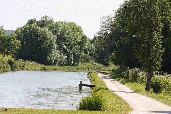 Burgund, Canal Bourgogne, Fahrrad, Frankreich