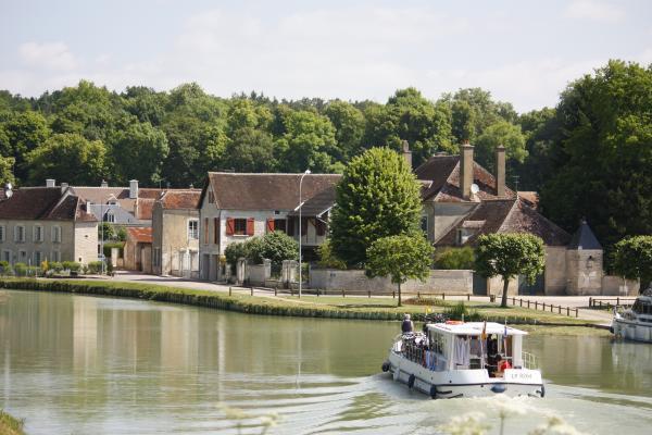 Burgund, Canal Bourgogne, Frankreich, Tanlay, Wasser, Yvonne