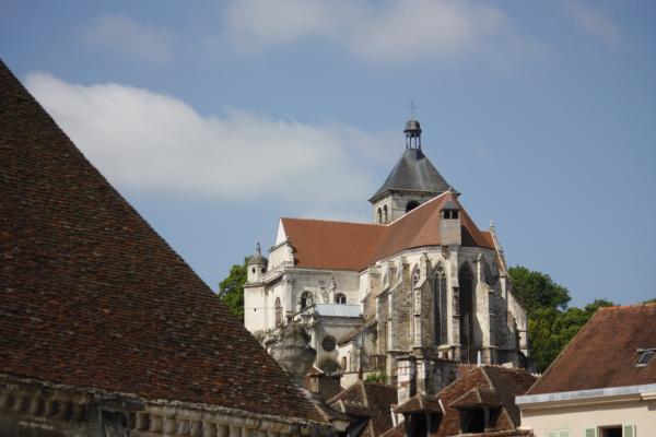 Burgund, Frankreich, Kirche, Tonnerre, Yvonne