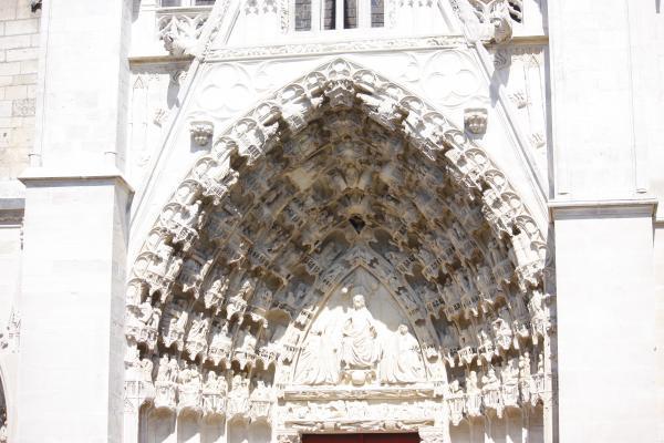 Auxerre, Burgund, Frankreich, Gotik, Kirche, Yvonne