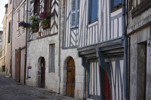 Auxerre, Burgund, Frankreich, Yvonne