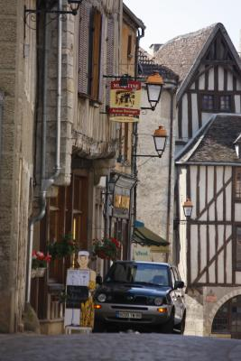 Burgund, Frankreich, Noyers, Yvonne