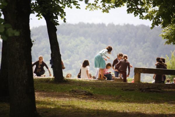 Burgund, Frankreich, Menschen, Vezelay, Yvonne