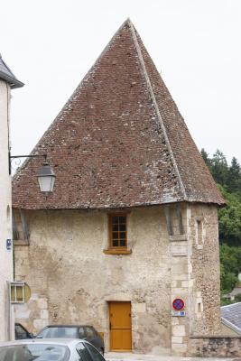 Avallon, Burgund, Frankreich, Yvonne