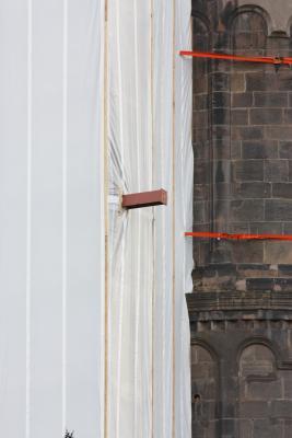 Architektur, grafisch, Kirche, Rheinland-Pfalz, Romanik, Turm, Worms