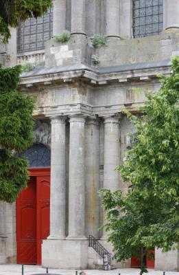 Champagne, Frankreich, Kirche, Klassizistisch, Langres, rot