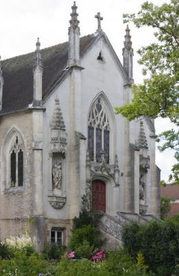 Champagne, Courcelles-sur-Aujon, Frankreich, Kirche