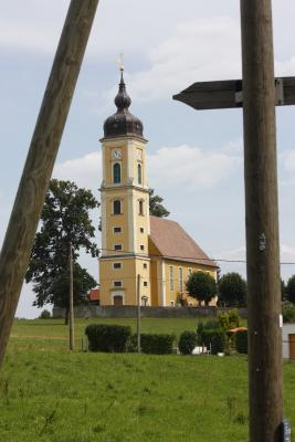 Architektur, Fahrrad, Kirche, Linkselbische Täler, Sachsen, Sächsiches Elbland