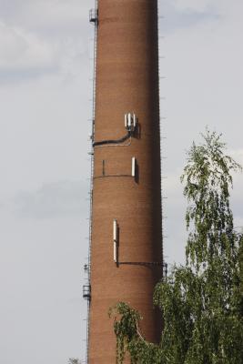 Antenne, Fahrrad, Linkselbische Täler, Sachsen, Schornstein, Sächsiches Elbland