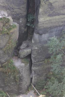 Affensteine, Bauernloch, Sächsische Schweiz, Wandern, Zwillingsstiege