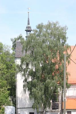 Burgenland, fahrradtour, Jahnatal, Kirche, Sachsen