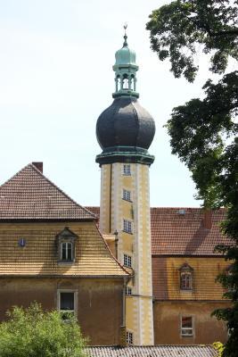 Burgenland, fahrradtour, Hof Schloß und Park, Jahnatal, Sachsen