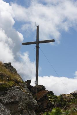 Alpen, Gipfel, Gipfelkreuz, Goldberggruppe, Hohe Tauern, Magernigspitz, Österreich