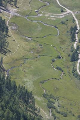Alpen, Asten, Astner Moos, Bach, Goldberggruppe, Hohe Tauern, Magernigspitz, Wasser, Österreich