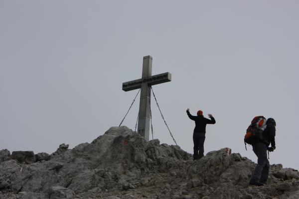 Alpen, Gipfel, Gipfelkreuz, Hochstadel, Lienzer Dolomiten, Robert