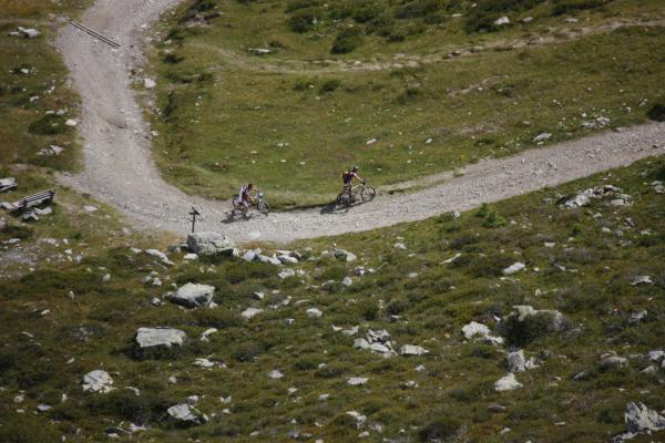 Fahrrad, Lienzer Dolomiten, Sillian Leckfeld