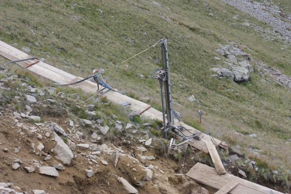 Alpen, Laitenkopf, Lawinenverbau, Marterle, Mölltal, Zellinkopf, Österreich