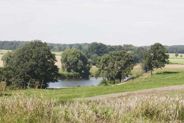 Bahnstrecke, fahrradtour, Landschaft, Mulde, Wurzen