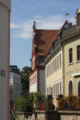 Architektur, Bahnstrecke, fahrradtour, Wurzen