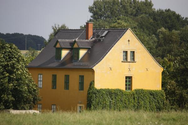 Architektur, Bahnstrecke, fahrradtour, Mulde, Trebsen