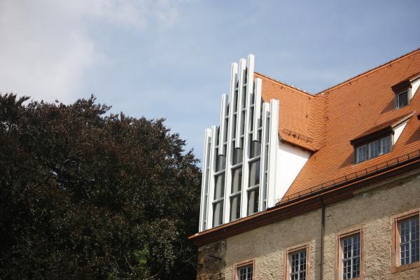 Architektur, Bahnstrecke, fahrradtour, Schloss, Trebsen